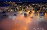 Downtown Seattle Approaching Fog,  Washington
