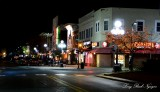 night time Iowa City Iowa