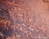 Petroglyph Atlatl Rock, Valley of Fire, Nevada