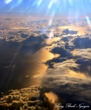 Over Davis Strait Atlantic Ocean 45000 feet