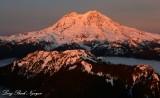 Mount Rainier, Mount Wow, Tahoma Glacier, Washington