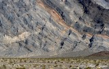 Cross section of Funeral Mountains, West Death Valley Junction, California