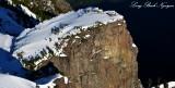 Vertical Rock formation, Mt Index, Cascade Mountains, Washington