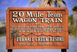 20 Mule Team Wagon Train, Furnance Creek, Death Valley, California