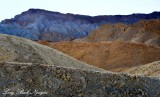 20 Mule Team Canyon Landscape, Death Valley National Park, California