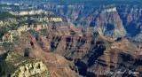 Haunted Canyon, Buddha Temple, North Rim, Bright Angel Canyon, Grand Canyon National Park, Arizona
