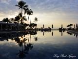 Reflection, Four Seasons Hotel, Big Island, Hawaii