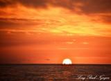 Sunset from Kona, Hawaii
