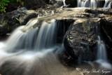 small waterfalls, Fairmont Orchid, Hawaii
