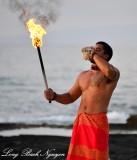 Performer at Four Seasons Resort, Kailua-Kona, Hawaii