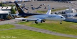 UPS Boeing 767, Landing Boeing Field, KBFI,  Seattle, Washington