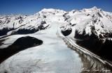La Perouse Glacier, Mount Dagelet, Mount Crillon, Fairweather Range, Glacier Bay National Park, Alaska