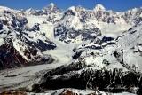 Fairweather Glacier, Mount Fairweather, Mount Quincy Adams, Mt Salisbury, Fairweather Range, Glacier Bay National Park, Alaska
