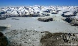 Alsek Glacier, Alsek Lake, Glacier Bay National Park, Alaska