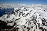 Mount Pinta, Russell Fiord, Hubbard Glacier, Mt Cook, Mt Vancouver, Mt Hubbard,Alaska