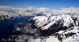 Mount Ruhamah, Russell Fiord, Disenchantment Bay, Hubbard Glacier, Mount Vancouver, Wrangell-St Elias National Park, Alaska