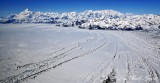 Mount Saint Elias, Mt Malaspina, Mt Cook, Malaspina Glacier, Wrangell-St.Elias National Park, Alaska