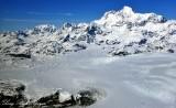 Mount Saint Elias, Agassiz Glacier, Libbfy Glacier, Tyndall Glacier, Wrangell-Saint Elias National Park, Alaska