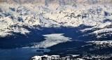 Meares Glacier, Mount Grosvenor, Nuakwik Inlet, Chugach Mountains Range, Alaska