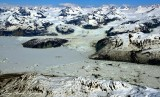 Alsek Glacier, Alsek Lake, Mount Hay, Mount Lodge, Glacier Bay National Park, Alaska