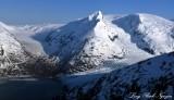 Portage Glacier, Portage Lake, Alaska