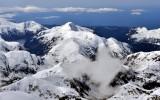 Peaks on Baranof Island, Sitka, Alaska