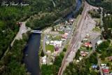 Town of Skykomish, South Fork Skykomish River, Washington State