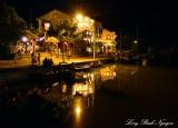 Hoi An at night, Thu Bon river, Hoi An, Vietnam