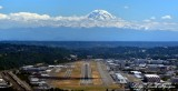 Mount Rainier, Boeing Field, King County International Airport, Boeing Airplane Company, Seattle, Washington