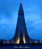 Hallgrimskirkja, Reykjavik, Iceland 2014