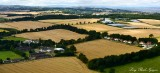 Farmland near Edinburgh Airport, Scotland, UK