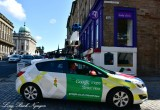 Google Maps car Thistle Street Edinburgh Scotland UK