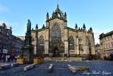 St Giles Cathedral Edinburgh UK
