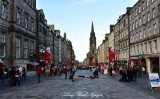 The Royal Mile Edinburgh Scotland UK