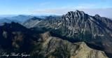 Mount Stuart, Sherpa Peak, Stuart Range, Cascade Mountains, Washington