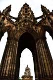 Scott Monument and Statue Edinburgh UK