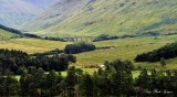 Horseshoe Viaduct Line, Allt Kinglass River, Scottish Highland, UK