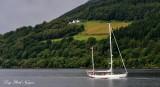 Sailing the Loch Ness, Scotland, UK