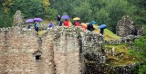 Bagpiper atUrquhart Castle Loch Ness Drumnadrochit Inverness Scotland UK