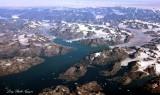 Melting Glacier Lakes on Greenland