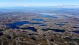 Lakes on Angmalortup Nuna, Sondre Stromfjord, Greenland