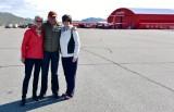 Nancy David Katherine Sondre Stromfjord Airport Greenland