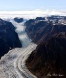 Serminguag Glacier, Sukkertoppen Iskappe Glacier Field, Greenland