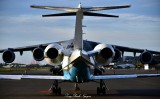 Head and Tail, Lear 60 and C17, Clay Lacy Aviation, Seattle