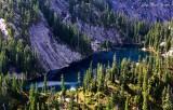 Horseshoe Lake Preacher Mountain Cascade Mountains Washington