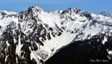West Peak of Mount Anderson Olympic Mountains WA