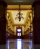 Office Corridor,  Colorado State Capitol, Denver