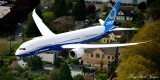 Boeing Dreamliner 787-9, Georgetown, Seattle, Washington