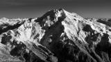 Glacier Peak, Kennedy Peak, Kennedy Glacier, Scimitar Glacier, Sitkum Glacier, Cascade Mountains, Washington