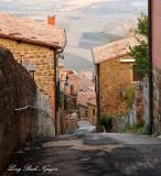Via Spagni, Montalcino, Tuscany, Italy